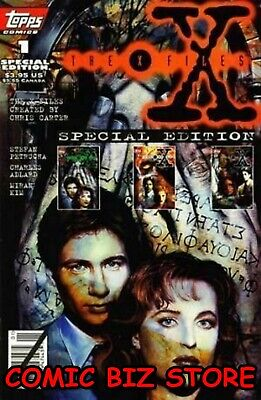 £1.99 • Buy X Files #1 (1995) 1st Printing Bagged & Boarded Topps Comics