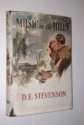 £12 • Buy Music In The Hills By D.E. Stevenson 1950 First Edition
