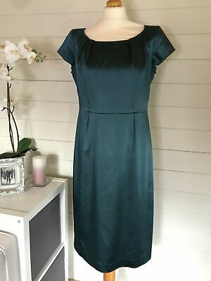 AU69.67 • Buy Ladies LK Bennett Fitted Teal Dress Size 14