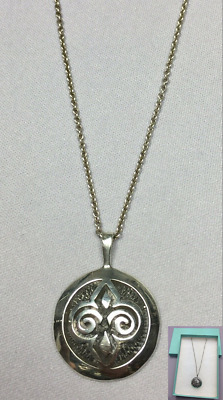 Superb Vintage Scottish Orkney Ola M Gorie Skara Brae Silver Pendant Necklace • 49.99£