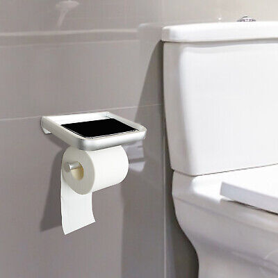 AU12.99 • Buy Stainless Toilet Bathroom Wall Mounted Roll Paper Box Tissue Holder Storage AU