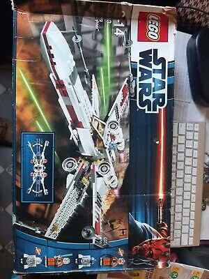 £34.34 • Buy Lego Stars Wars 9493 X-wing Starfighter Incomplet+boite Et Notice