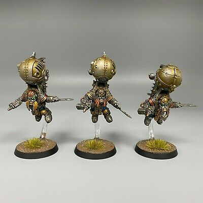 AU116.90 • Buy Kharadron Overlords Endrinriggers Painted Warhammer Age Of Sigmar Dwarfs