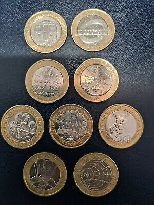 Rare £2 Pound Job Lot • 18£