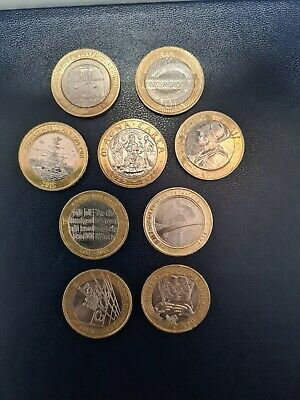 Rare £2 Pound Coin Job Lot  • 18£