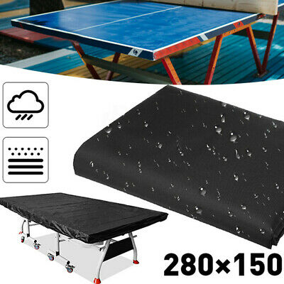AU25.84 • Buy Large Waterproof Ping Pong Table Storage Cover Table Tennis Protector Cove AU