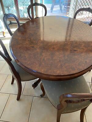 AU749 • Buy Antique Table And Chairs 1880 Era - Perfect Condition