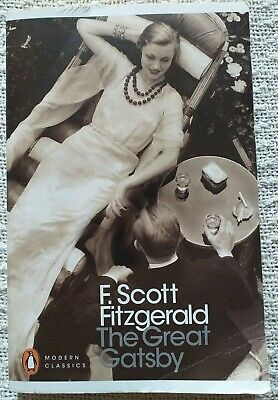The Great Gatsby By F. Scott Fitzgerald (Paperback, 2000) • 4£