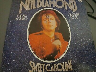 Neil Diamond, Sweet Caroline - Rock, Pop Vinyl LP Record (MFP 50449) • 0.99£