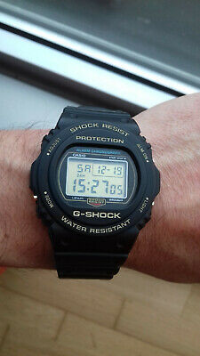 £252.79 • Buy Casio G Shock Dw-5735d-1b 35th Anniversary Gold Back NOS Watch Uhr Collectors