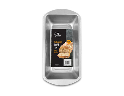 Classic Steel Loaf Tin Cake Baking Bread Oven Tray Pan 25 X12 Cm 1 Lb Liner Size • 5.49£