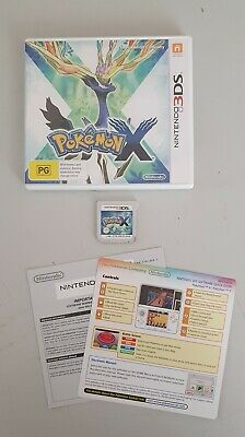 AU35 • Buy Pokemon X For Nintendo 3DS - Genuine Aus PAL
