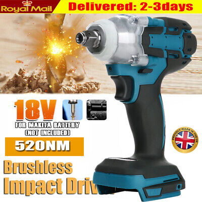 £24.99 • Buy ✅1/2  Electric Cordless Brushless Impact Wrench Drill Replace For MAKITA DTW285Z