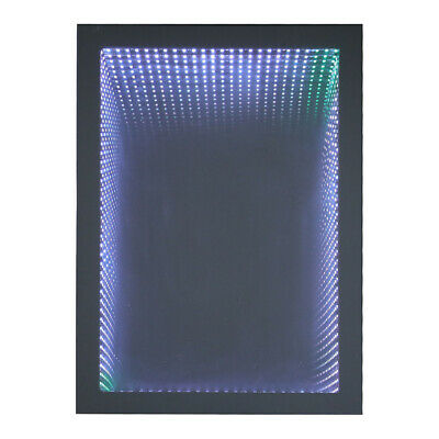 £145.95 • Buy Infinity Tunnel Effect LED Illuminated Bathroom Wall Mirror With Remote Control