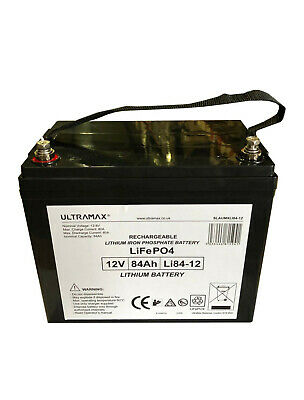 £376.82 • Buy Scada SP12-75 12V 75Ah Solar Replacement LITHIUM PHOSPHATE LiFePO4 LIPO Battery