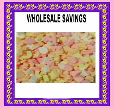 £3.20 • Buy ABC Candy Letters Retro Sweets Party Wedding Favours Candy Buffet Pick N Mix