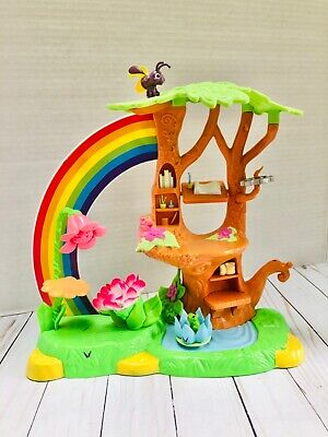Disney Tinkerbell Fairy Playset Toys Treehouse Jakks 2010 Rainbow Fairies House  • 17.10£