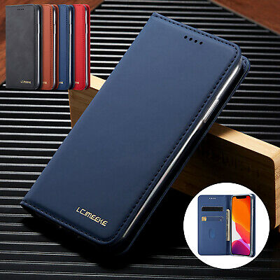 AU11.99 • Buy For Samsung Note 10 Plus S8 S9 S10 Plus S20 Ultra Leather Wallet Flip Case Cover