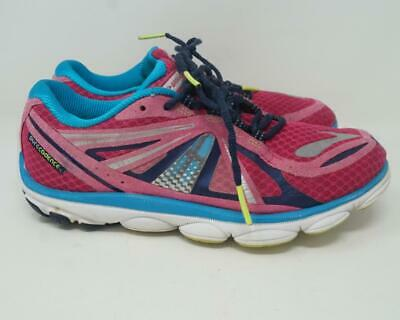 $ CDN29.22 • Buy Brooks Pure Cadence 3 Running Shoes Pink/White/Blue Women's US 8