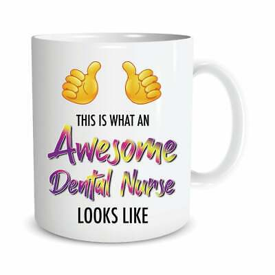 £13.99 • Buy Funny Mug This Is What An Awesome Dental Nurse Looks Like Birthday Gift Cup M916