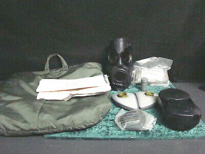 $115 • Buy M17 A1 Gas Mask With OD Green Carry Bag And Extras