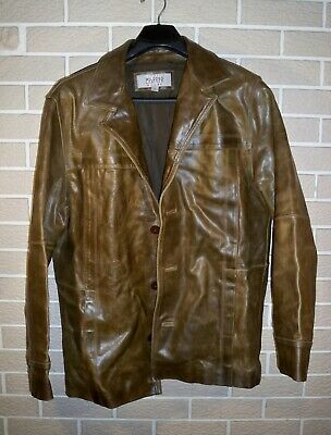 $34.95 • Buy M Julian Brown Leather Jacket By Wilson's Leather - Size L