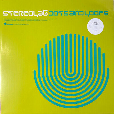 £22.90 • Buy Stereolab DOTS AND LOOPS +MP3s GATEFOLD Remastered NEW BLACK VINYL RECORD 3 LP