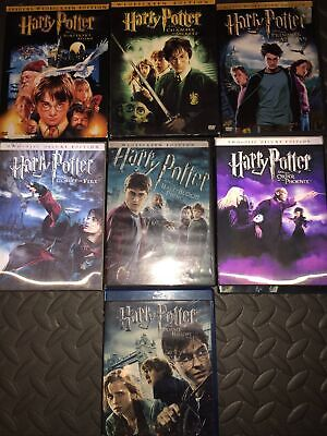 $ CDN31.72 • Buy Harry Potter Almost Complete Set DVD/ Blu Ray