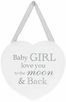 £3.69 • Buy Large Shabby Chic White Wooden Heart Hanging Plaque, Home, Gift, Love