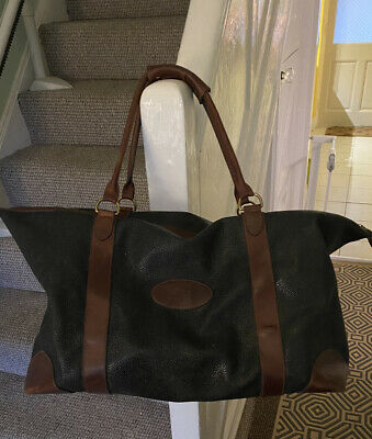 £570 • Buy Mulberry Weekend Travel Bag, Scotchgrain, Very Large