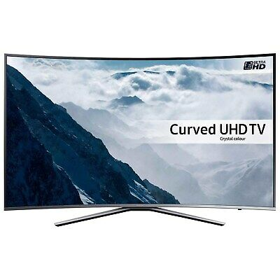 $ CDN1795.31 • Buy Refurbished Samsung 65  Curved 4K Ultra HD With HDR QLED Freeview HD Smart TV Wi