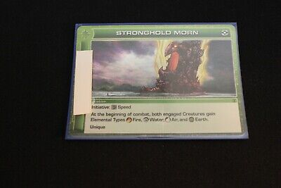 AU4.34 • Buy Chaotic Card Stronghold Morn Ripple Foil