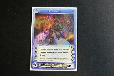 AU88.76 • Buy Chaotic Card 4 Element Heptadd Ripple Foil