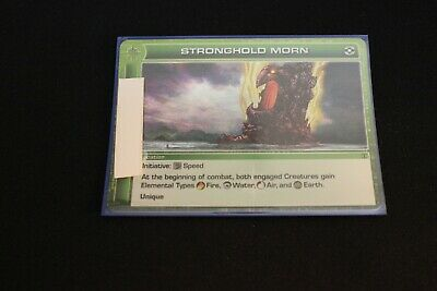AU2.03 • Buy Chaotic Card Stronghold Morn Ripple Foil