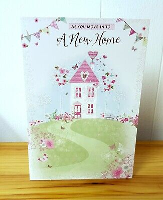🏡 A New Home Card Congratulations Moving In Happy House Warming Good Luck 🏡 • 2.99£