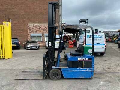£2950 • Buy Used Electric Forklift Truck Caterpillar D-EP15T 1.5 Ton 6.5m Lift Height