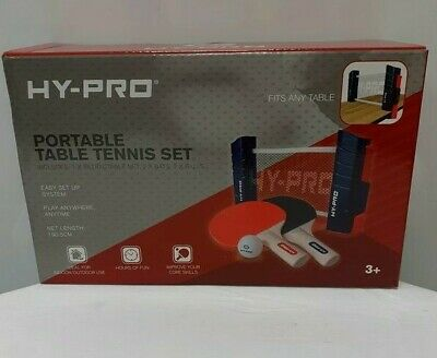 Hy-pro Portable Table Tennis Set (BRAND NEW) • 8£