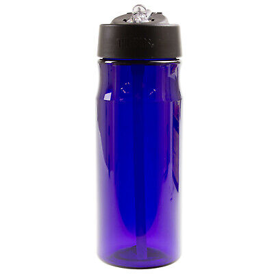 Thermos 530ml Hydration Bottle With Straw Sports Drink Water Tumbler Deep Purple • 9.95£