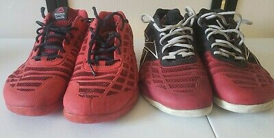 $ CDN44.24 • Buy Lot Of 2 Pairs Of Reebok Crossfit Shoes Mens Size 10.5 Red Workout Running