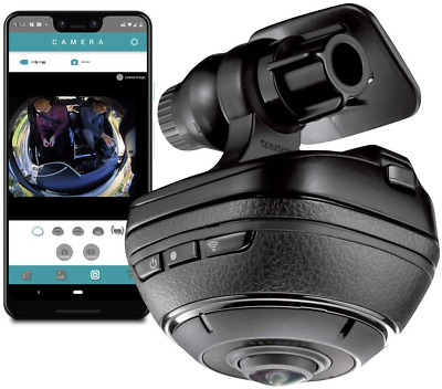 AU677.62 • Buy Razo D'Action 360 Dash Cam: 4K Dash Camera For Car With Built-In Wifi And Gps, S