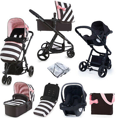 AU811.65 • Buy Cosatto Giggle 2 Stroller Travel System 3 In 1 Accessories Bundle Baby Car Seat