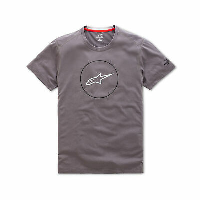 $36.61 • Buy Alpinestars 1038-73000-18-M Disk Ride Dry Tee Md Charcoal
