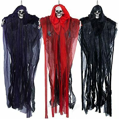 $ CDN114.93 • Buy 27.6 Halloween Hanging Clowns (3 Pack) Varies Color, Decorations, Scary For Prop