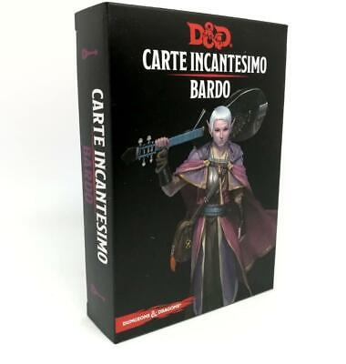 AU31.04 • Buy Dungeons & Dragons Cards Spell Bard Fifth Edition 5 ASMODEE' GDR RPG