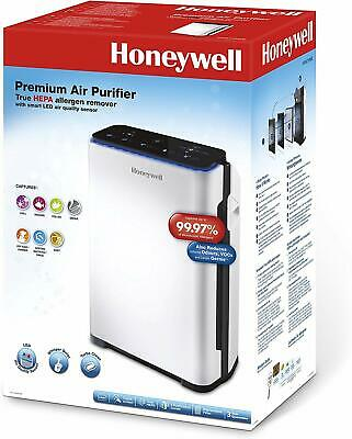 Honeywell Air Purifier True HEPA Allergen Remover With LED Air Quality Sensor • 306£