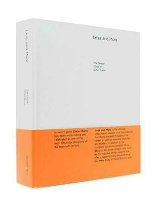 Less And More: The Design Ethos Of Dieter Rams, Klaus Klemp, Good Condition Book • 46.80£