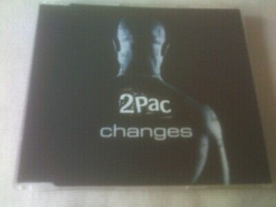 2pac - Changes - 3 Mix R&b Cd Single • 1.99£