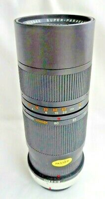 Super Paragon PMC 80-200mm F3.8 Built In Lens Hood To Fit Canon FD    (SH760) • 19.50£