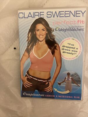 , Claire Sweeney: Perfect Fit With Weightwatchers [DVD] [2007], Very Good, DVD • 2.39£