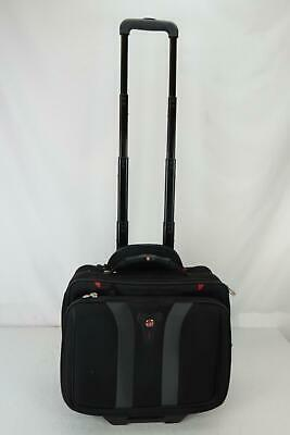 Swiss Army Rolling Travel Carry On Laptop Bag Briefcase With Wheels • 30.03£